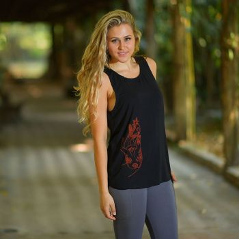 Yoga loose top Anahata